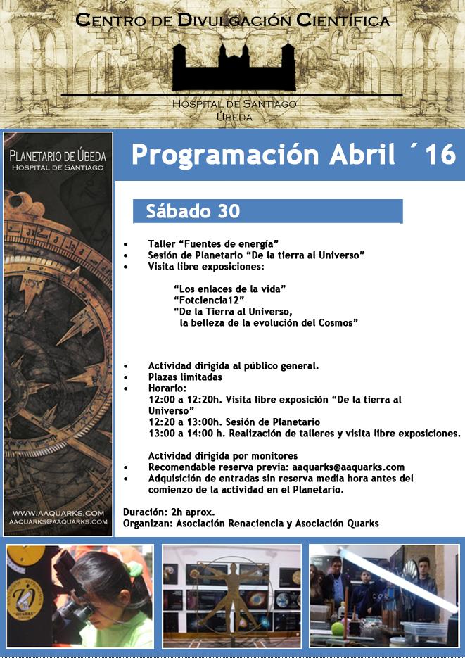 ProgramacionAbril 16 2